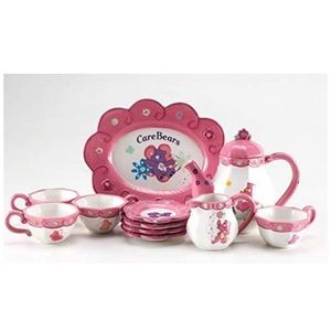 Vintage Collectible Care Bears Full Tea Set